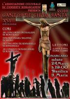 Eventi - Cantos de Chida Santa - XVI edizione - Bonarcado - Oristano