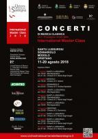 Eventi - International Master Class - Concerti di musica classica - Santu Lussurgiu - Sennariolo - Modolo - Oristano