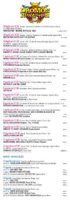 Eventi - Dromos Festival 2018 - Programma - Oristano