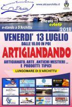 Eventi - E-stando a S'Archittu 2018 - Artigiandando  - S'Archittu - Cuglieri - Oristano