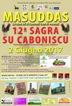 Eventi - Sagra de su caboniscu ammuntau, binu nieddu e pai indoradu 2017 - Masullas - Oristano