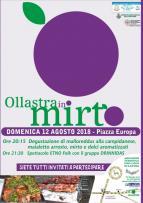 Eventi - Ollastra in mirto 2018 - Ollastra - Oristano