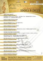 Eventi - Domenica in concerto - Recital pianistico di Federico Manca - Oristano