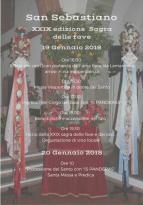 Eventi - San Sebastiano e la XXIX sagra delle fave e dei ceci - Ollastra - Oristano