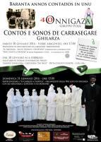 Eventi - Baranta annos contados in unu - Contos e sonos de Carrasegare - Ghilarza - Oristano