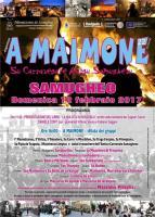 Eventi - Carnevale - A MAIMONE 2017 su Carrasegare antigu Samughesu - Samugheo - Oristano