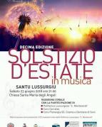 Eventi - Solstizio d'estate in musica - Santu Lussurgiu - Oristano
