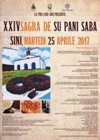 Eventi - Sagra de su pani 'e saba 2017 - Sini - Oristano