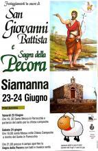 Eventi - San Giovanni Battista e Sagra della pecora 2017 - Siamanna - Oristano