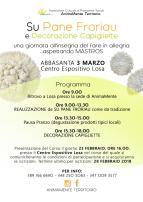 Eventi - Su pane froriau e decorazione delle capigliette - Abbasanta - Oristano
